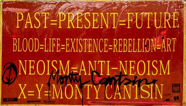 , 'Neoist Cultural Revolution (detail),' 2015, Robert Kananaj Gallery