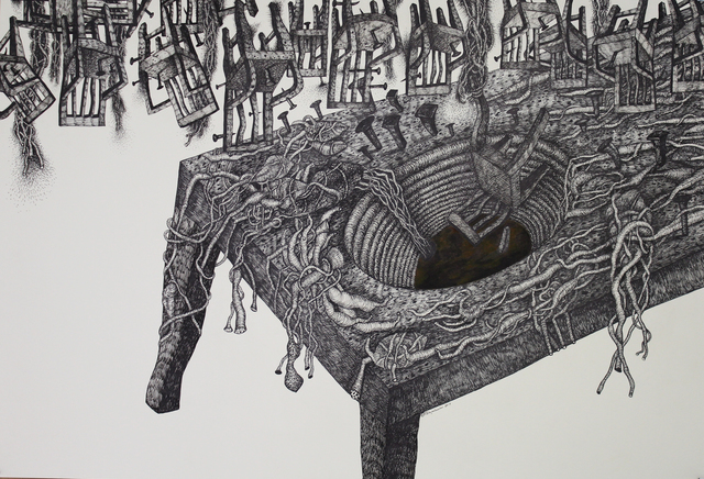 , 'DISAPPEARENCE VI,' 2017, Saskia Fernando Gallery