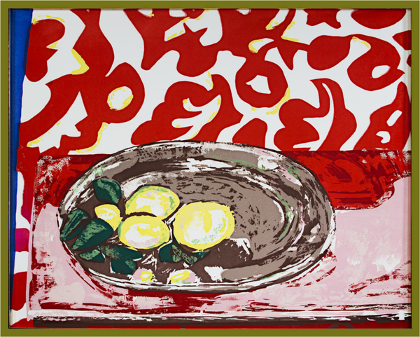 Henri Matisse, 'Lemons On A Pewter Plate After Henri Matisse', 1981, David Barnett Gallery