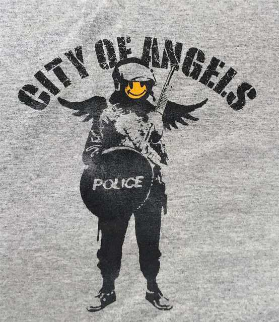 Banksy, 'City Of Angels', 2002, Tate Ward Auctions