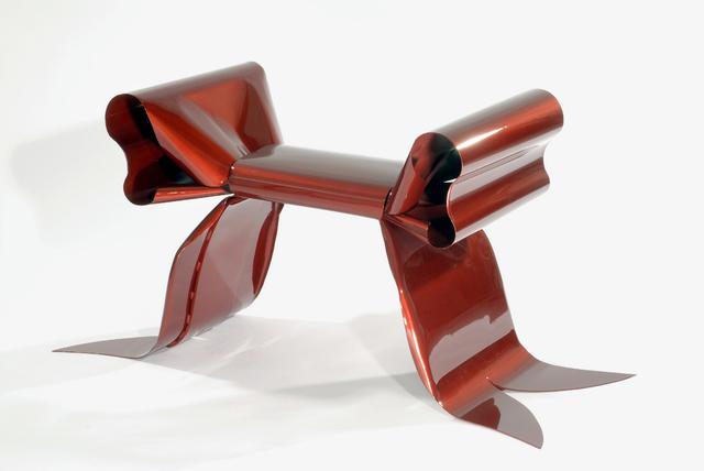 Maria Pergay, 'Pouf Ruban / Ribbon Pouf,' 2007, Demisch Danant