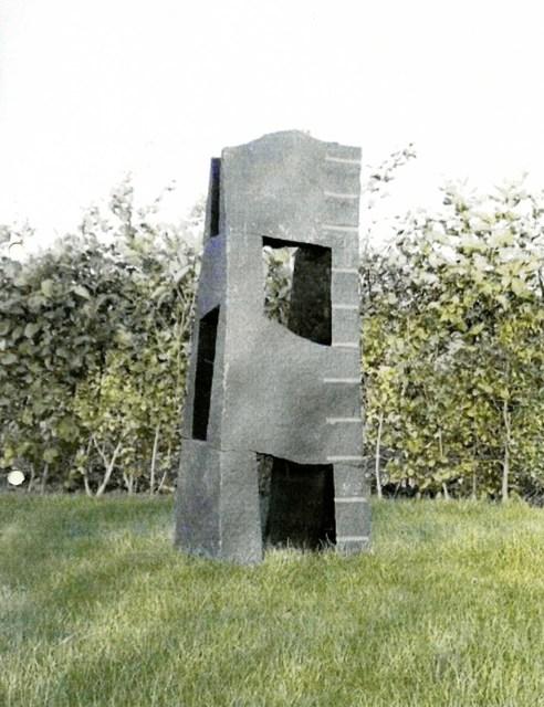 , 'N 84 Structure Diabas,' 1989, Galerie Hans Mayer