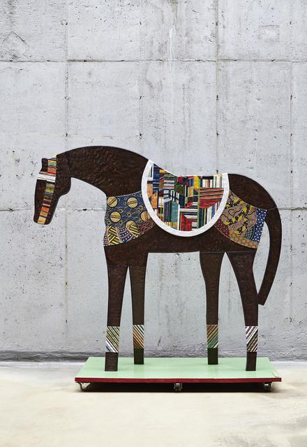 Shin Sang Ho, 'Horse - Emerald Green Pedestal', 2014, Leehwaik Gallery
