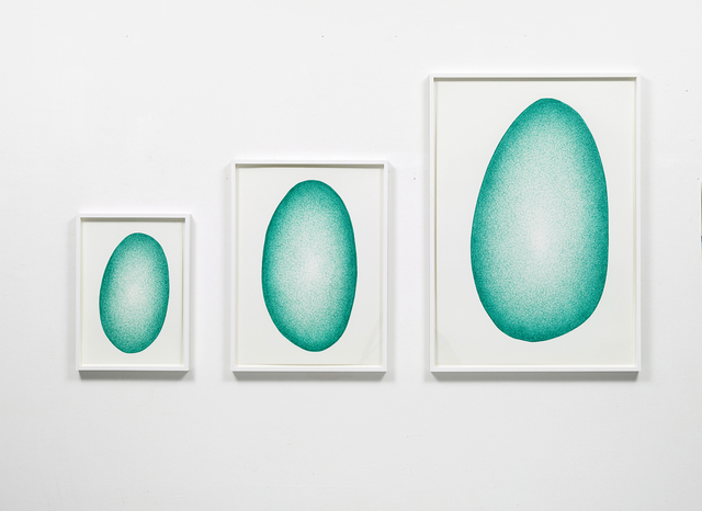 , 'Amorphous Growth in Green,' 2014, Philipp von Rosen Galerie