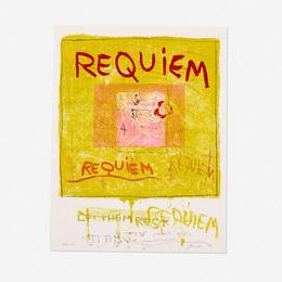 Joan Snyder, 'Requiem/Let Them Rest,' 1998, Wright: Prints + Multiples (January 2017)