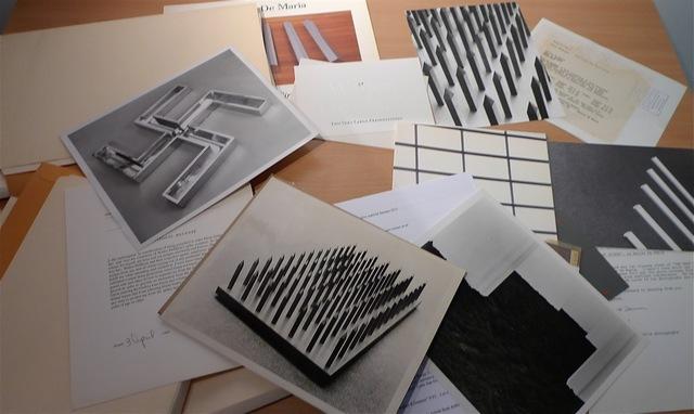 Walter De Maria, 'Extensive Archive 1965-1999', 1965-1999, Bengtsson Fine Art