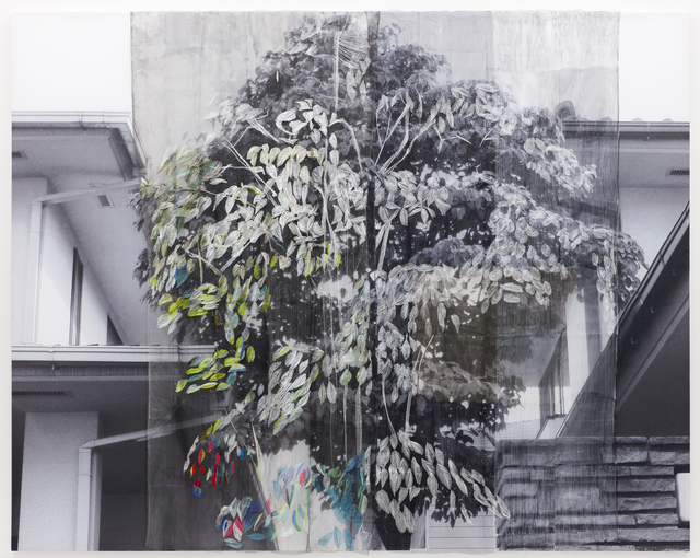 , 'Between Tree, Ghost has come,' 2011, Wooson Gallery