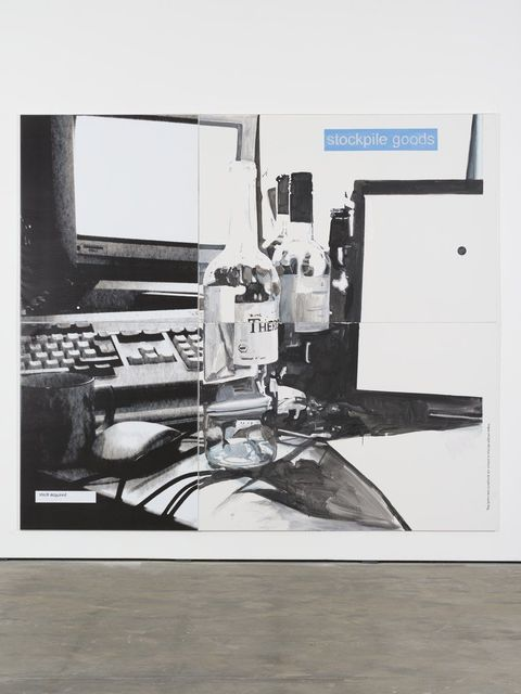 , 'Goods,' 2013, Wentrup