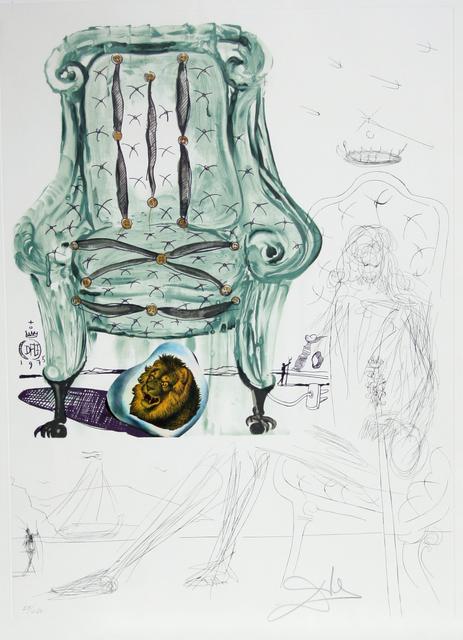 Salvador Dalí, 'Breathing Pneumatic Armchair', 1975, RoGallery