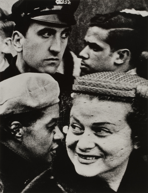 William Klein, 'Four Heads', 1955, Contemporary Works/Vintage Works