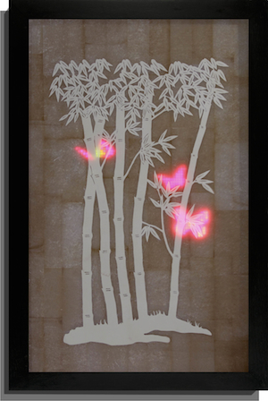 , 'fluttering through xishuangbanna,' 2013, galerie burster