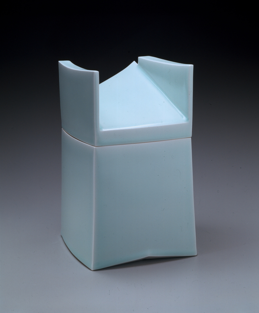 Sueharu Fukami, 'Set of Three Covered Boxes: Imaging the Box #7: Breath (Hako no katachi #7: Ki), Imaging the Box #8: Space (Hako no katachi #8: Ma), Imaging the Box #9: Flow (Hako no katachi #9: Nagare)', 2002, Joan B. Mirviss Ltd.