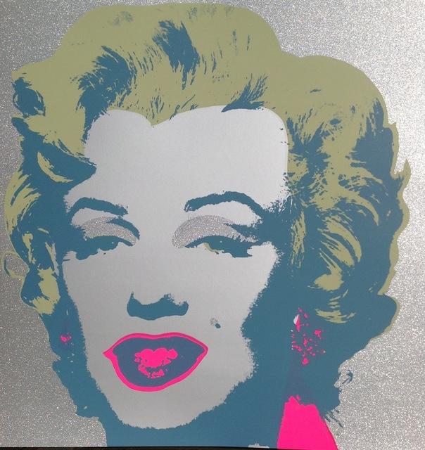 Andy Warhol, 'Diamond Dust Marilyn', Galerie Vivendi