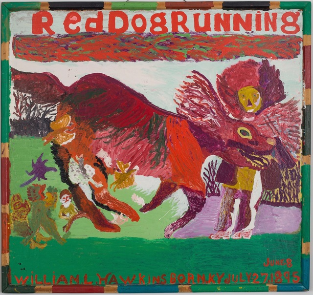 , 'Red Dog Running #2,' ca. 1984, ZQ Art Gallery