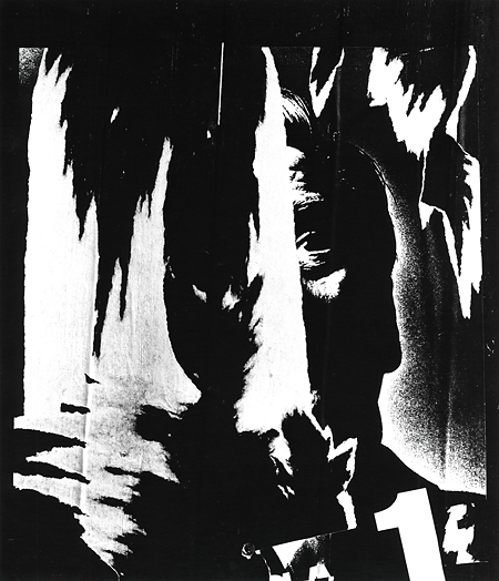 , 'Torn Poster, Holland,' 1971-printed 1973, Scott Nichols Gallery