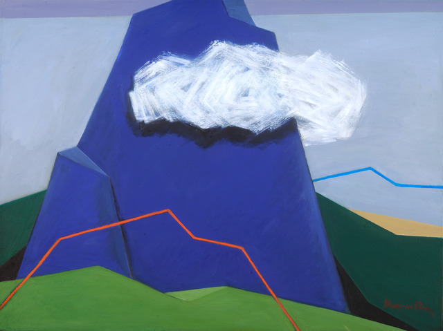 , 'Clouds Over Mountains,' , Isabella Garrucho Fine Art