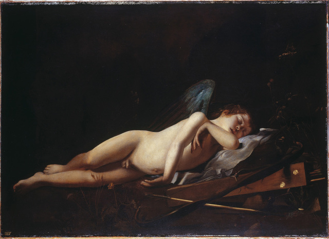 , 'Sleeping Cupid,' ca. 1618, The National Gallery, London