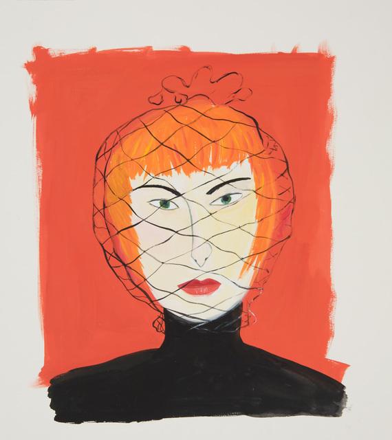 Maira Kalman, 'Woman with Face Net', 2000, ICA Philadelphia