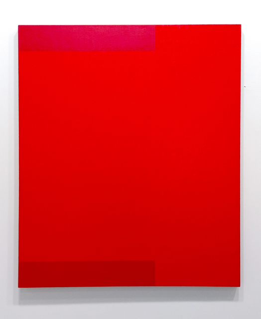 Frank Badur, 'Untitled (Red)', 1994, Painting, Oil and alkyd on linen, Margaret Thatcher Projects