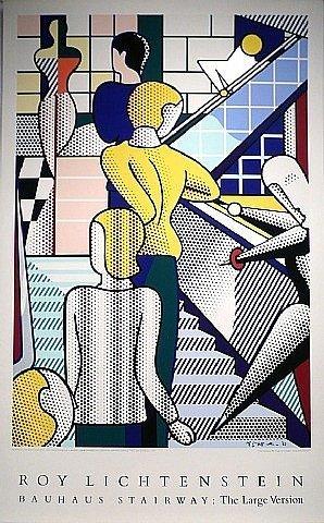 Roy Lichtenstein, 'Bauhaus Stairway', 1989, David Lawrence Gallery