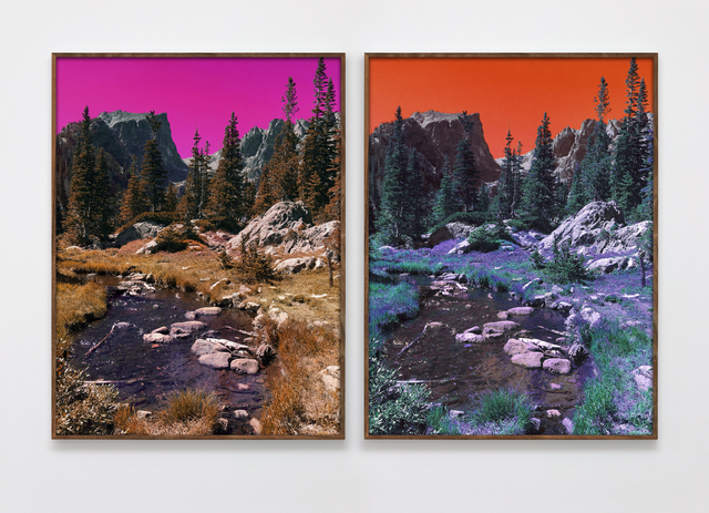 , 'Dream Lake Trail (PC,M,Y,B,G,PM,LG,C) (PM,Y,C,B,G,M,LG,PC),' 2017, Roberts Projects