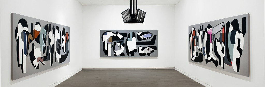 Hayal Pozanti: Deep Learning, November 15, 2015 -April 3, 2016 (The Aldrich Contemporary Art Museum installation view).   Courtesy of the artist and Jessica Silverman Gallery, San Francisco Photo: Chad Kleitsch