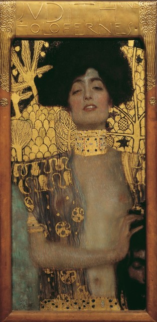Gustav Klimt, 'Judith and the Head of Holofernes', 1901, Painting, Oil on canvas, Belvedere Museum