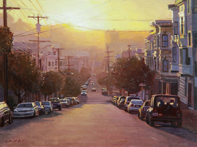 , 'Sunset Over the Marina District,' 2015, Gallery 1261