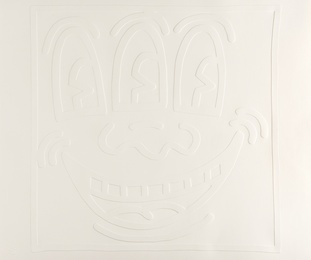Keith Haring, 'Untitled (from White Icons),' 1990, Forum Auctions: Editions and Works on Paper (March 2017)