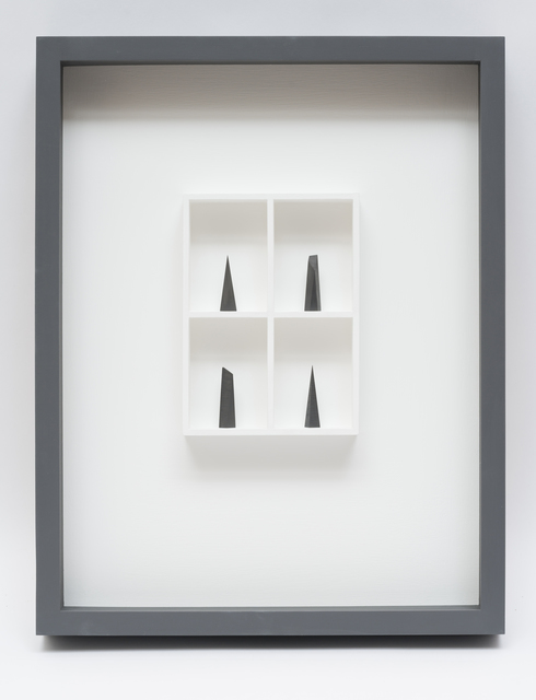 Paul Fry, '4 pieces of graphite (the edge of silence) ', 2019, bo.lee gallery