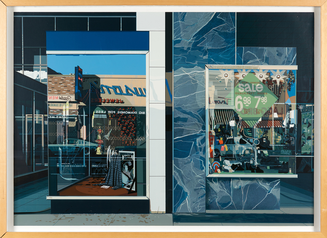 Richard Estes, 'Qualicraft Shoes', 1974, Print, Screenprint in colors (framed), Rago/Wright
