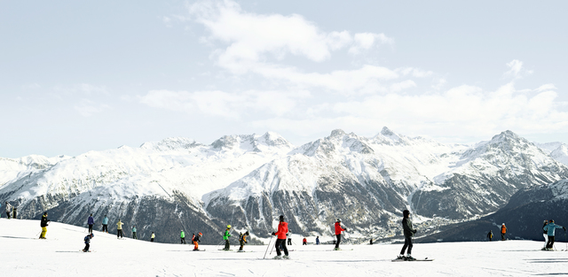 , 'Taking in St Moritz,' 2017, Newzones