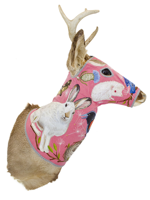 , 'Deer Head - Pink,' 2016, Antieau Gallery