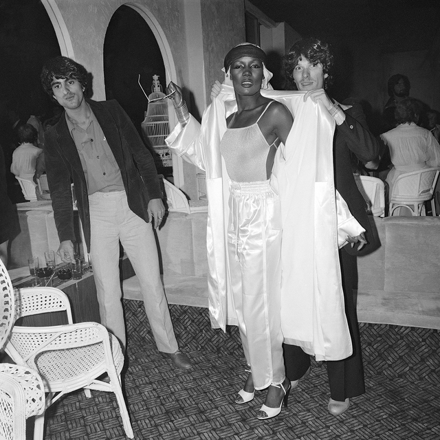 , 'Grace Jones Arrives on Opening Night La Farfalle, NY, NY. June 1978,' 2018, Undercurrent Projects