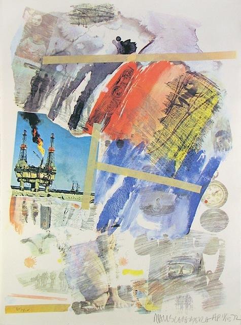 Robert Rauschenberg, 'Horchow', 1972, Gregg Shienbaum Fine Art