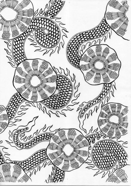 , 'Screw Pine -inked drawings,' 2017, Chan + Hori Contemporary