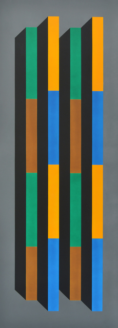 , 'Columna Policromada,' 1998, Durban Segnini Gallery