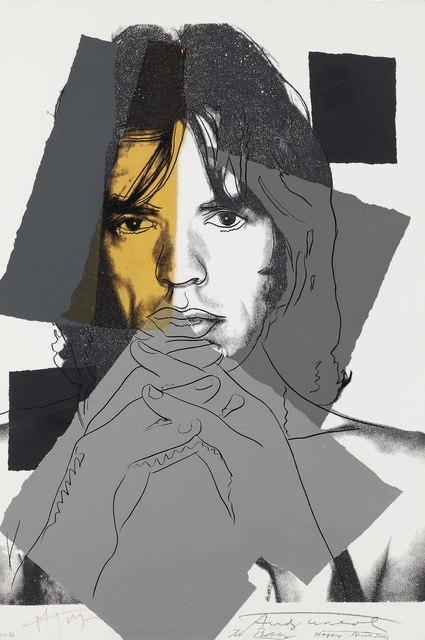 Andy Warhol, 'Mick Jagger: one plate', 1975, Christie's