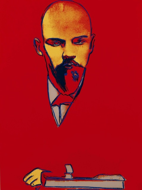 Andy Warhol, 'Red Lenin (FS II.403)', 1987, Print, Screenprint on Arches 88 Paper, Revolver Gallery
