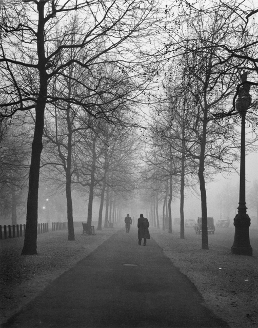 Evelyn Hofer, 'The mall foggy morning', ROSEGALLERY