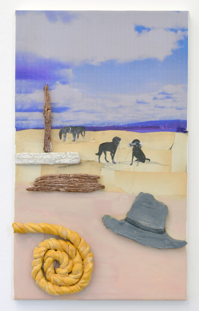 , 'Rope, Hat and Dogs,' 2016, Marie Kirkegaard Gallery