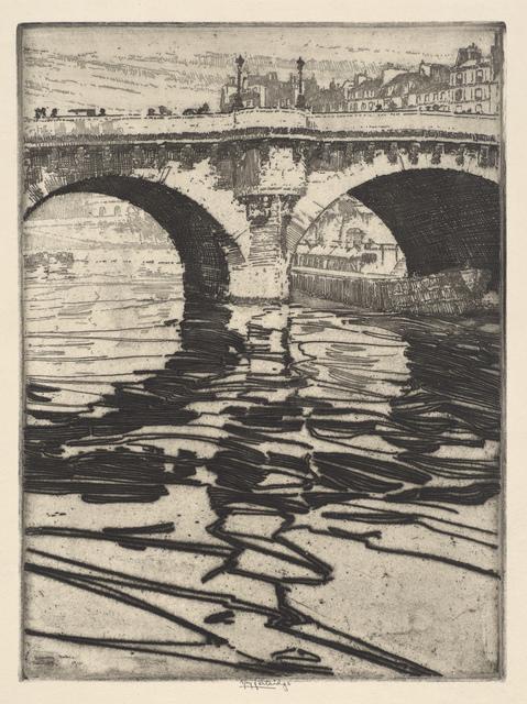 , 'Dancing Water (Pont Neuf),' 1911, de Young Museum