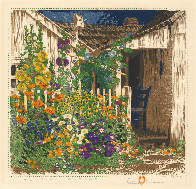 , 'Hoosier Garden.,' 1927-1961, The Old Print Shop, Inc.