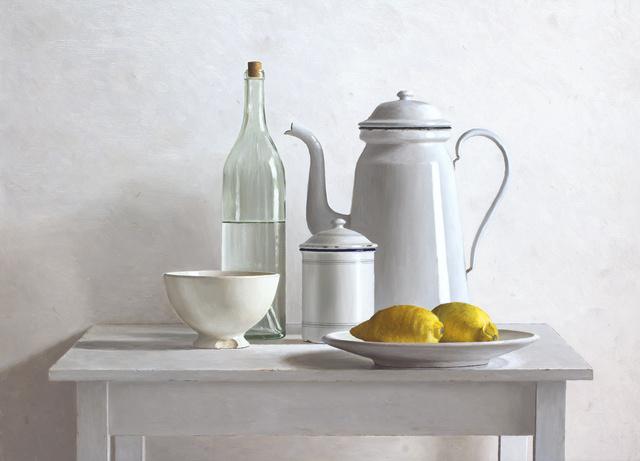 , '2 lemons on plate,' 2018, Smelik & Stokking Galleries