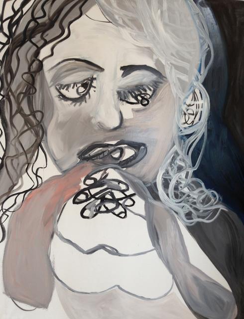 , 'Grying Girl,' 1991, Galerie Brigitte Schenk