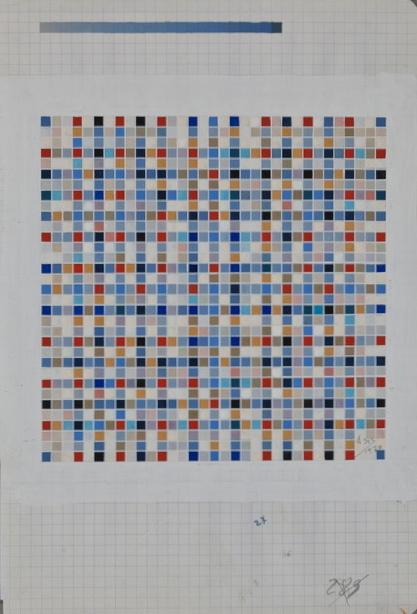 , 'Carrés Rythmiques# 2301,' 1970, KaBe Contemporary