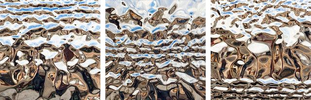 , 'Triptych,' 2018, Pontone Gallery