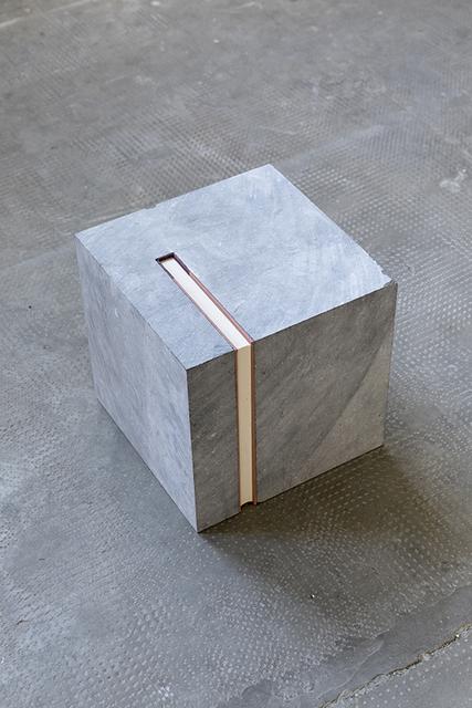 , 'Cube (Poems-Eliot),' 2017, Galleria Raffaella Cortese