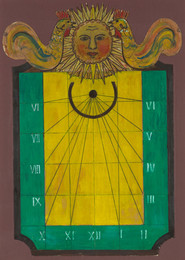 Design for a Wall-Mounted Sundial