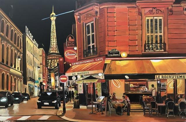 , 'Parisian Café, Eiffel Tower, PARIS,' 2017, Ascot Studios